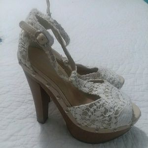Limelight Lace Heels